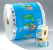 Good Quality Stand Up Plastic Bags & Anti - Punch Plastic Packaging Rolls , LLDPE Flexible Packaging Films on sale