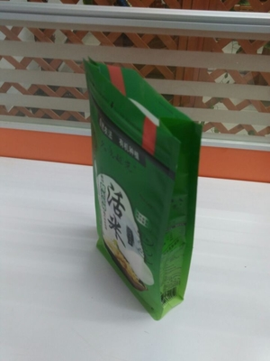 Good Quality Stand Up Plastic Bags & Plastic Big Dog Pet Food Bag Stand Up Ziplock Pe With Bottom / Side Gusset on sale