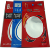 Full Colors Printed Aluminum Foil Stand Up Pouch With Zipper Flat Bottom