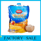 China Big 1 KG  Oats Packaging Liquid Spout Bags Food Grade Plastic Bag With Lid factory