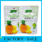 Aluminum Foil Plastic Food Bags , Dehydrated Fruits Packaging Doypack Pouch