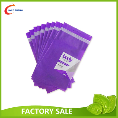 Metallic / Blank / Printed Self Adhesive Bags , Plastic Self Seal Bags Cosmetics Packaging