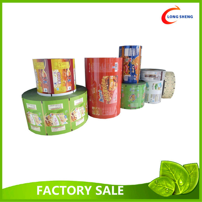 PET Laminated Printed Plastic Packaging Film For Snack Packaging 20cm X 1000m
