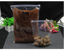 Food LDPE Clear Zipper Bags , Clear Plastic Pouch With Zipper