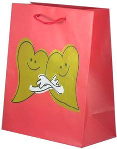 Professional Multi Printed Paper Bags With Side Gusset OEM Available